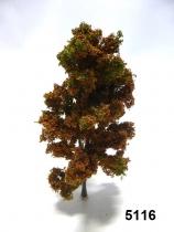 5116 - Laubbaum 18cm herbstbraun