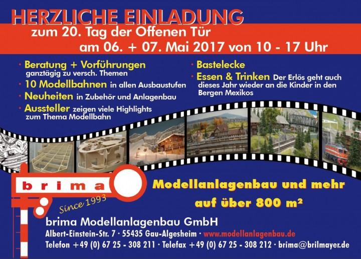 Tag der offenen tür flyer  Vorführungen an den Tagen der offenen Tür 06. und 07. Mai 2017 ...